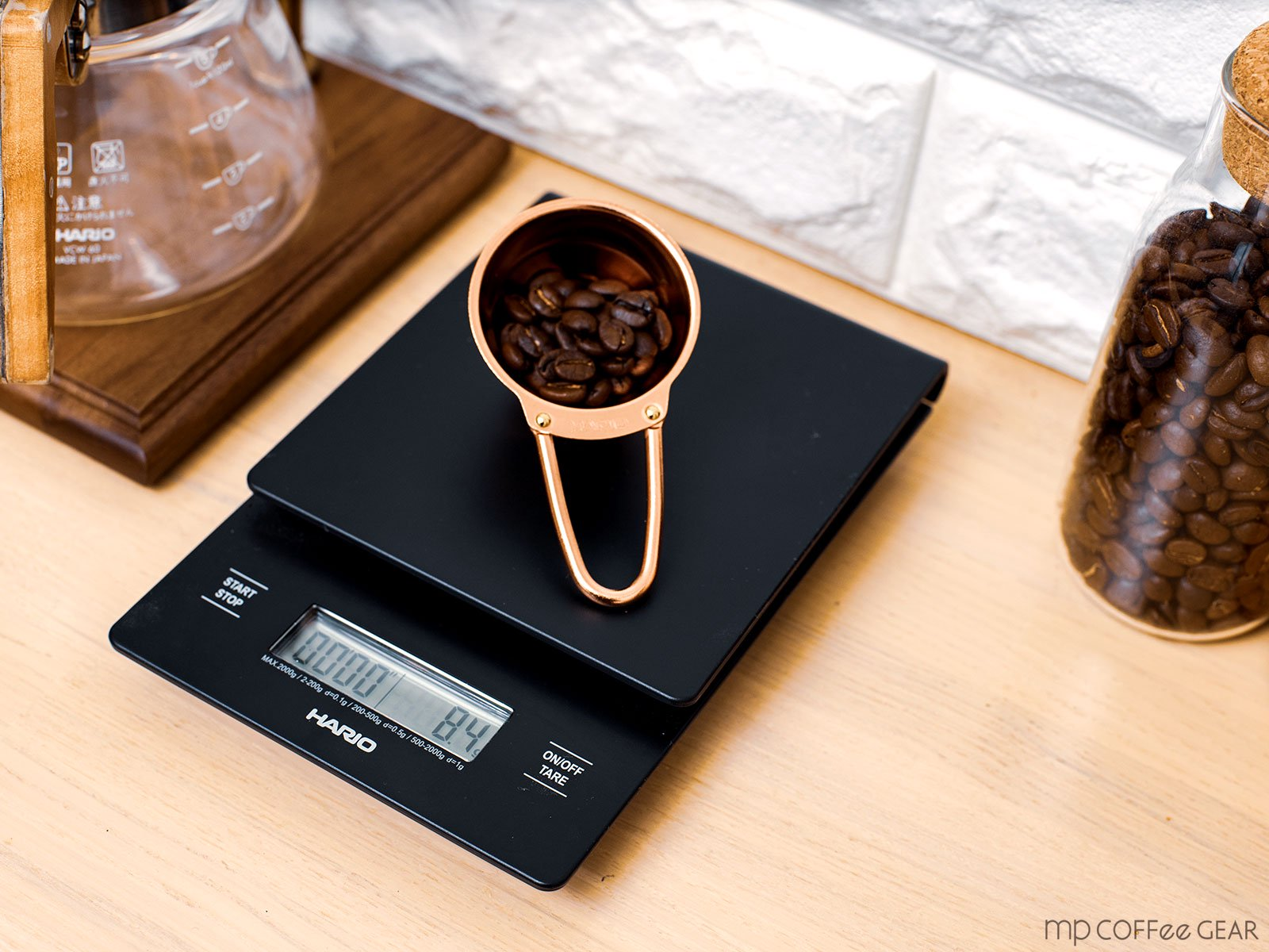 mp coffee gear HARIO V60 ドリップスケール