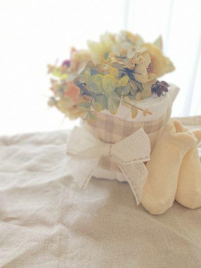 布おむつケーキ〜cotton candy〜.