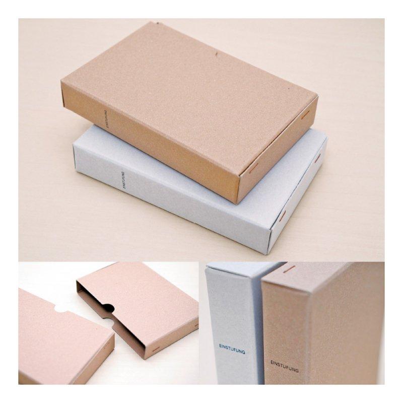 STOCK ポストカードボックス【ブラウン】LSK02-40BR