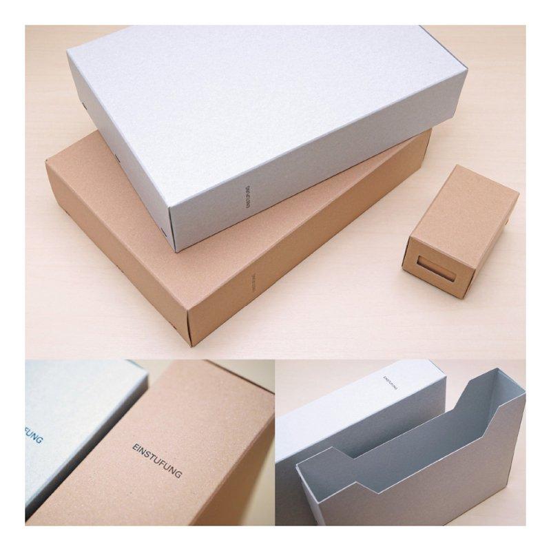 STOCK A4ファイルボックス【ブラウン】LSK03-78BR