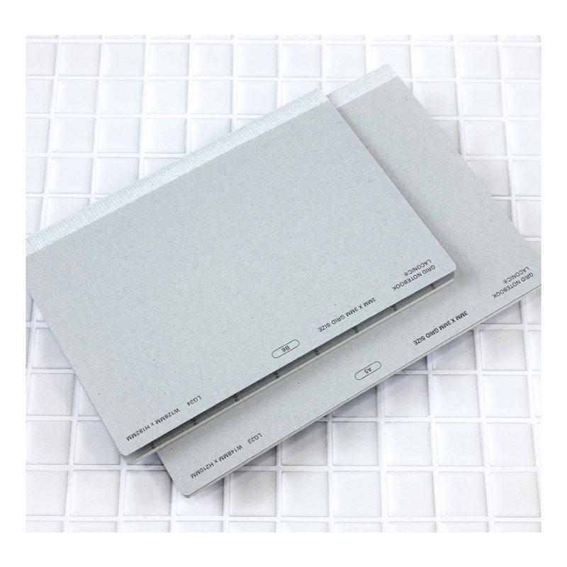 3mmグリッドノート【B6】LG24-35