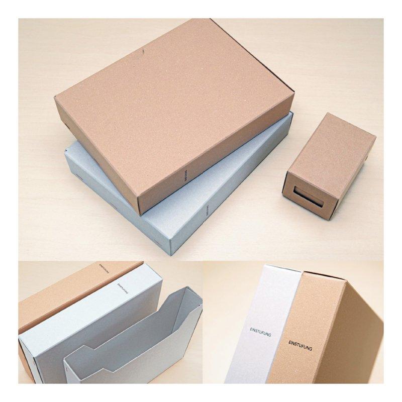 STOCK A5ファイルボックス【ブラウン】 LSK12-60BR