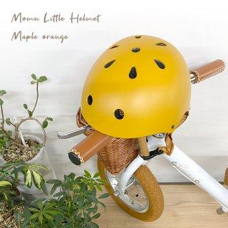 【オレンジ】キッズ用 ヘルメット 自転車用 キッズバイク用 52cm-58cm