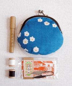 がま口裁縫セット(花飾り)