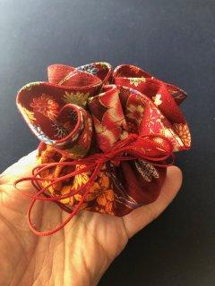 巾着裁縫セット(花柄)