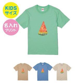 すいかデザインTシャツ(キッズサイズ)