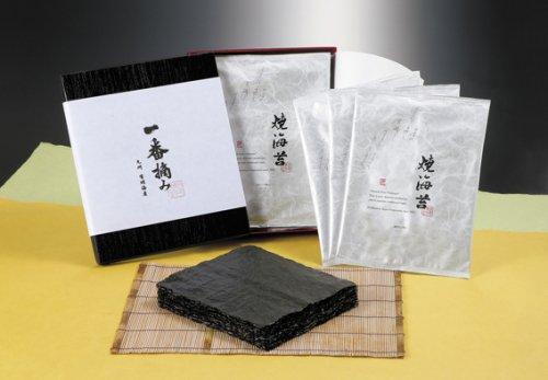 有明一番摘み焼海苔(板海苔10枚×3袋)ギフトセット