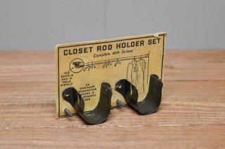 HW4-Closet Rod Holder Set
