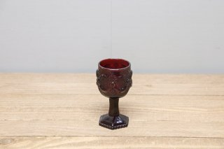 Ruby Red Wine Glass