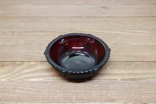 Ruby Red Glass Bowl