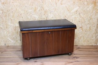 RECORD CABINET BENCH