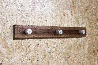 Zebra wood Wall Hanger / A