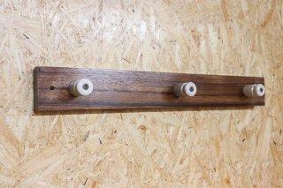 Zebra wood Wall Hanger / C