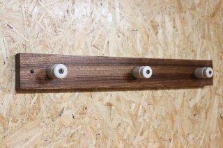 Zebra wood Wall Hanger / D