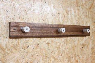 Zebra wood Wall Hanger / E