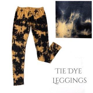 タイダイレギンス 11分丈◆絞染め◆Tie dye leggings