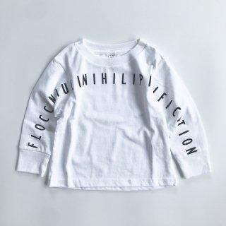 SPUT performance / Floccinaucinihilipilification Kids L/S T-shirt - white