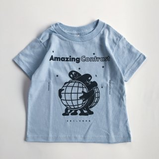 SPUT performance / Amazing Contrast Kids T-shirt
