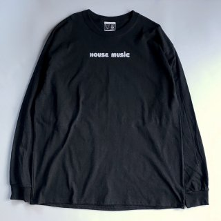 SPUT performance / HOUSE MUSIC LS T-shirt - black