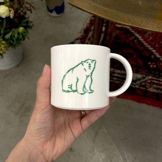 shirokuma / shirokuma Logo Plastic Cup - white