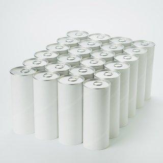 アート紙缶 大(内径 63mm x 高さ168mm) 24缶単位