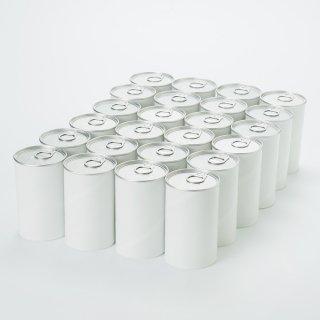 アート紙缶 小(内径 63mm x 高さ110mm) 24缶単位