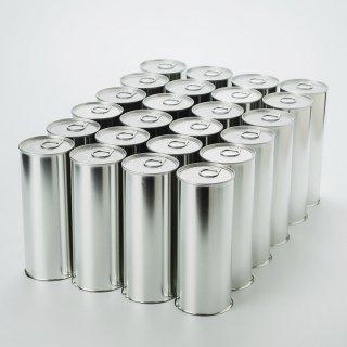 スチール缶(加工&製缶作業代行込み)大 (内径65mmx高さ168mm)24缶単位