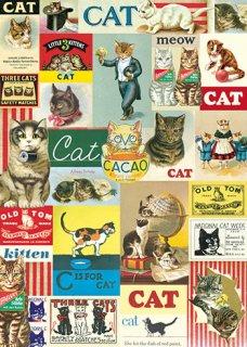 Cavallini(カバリーニ):ラッピングペーパー-Cats
