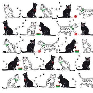 ペーパーナプキン(33)ppd:(5枚)Cats & Cats-PP177