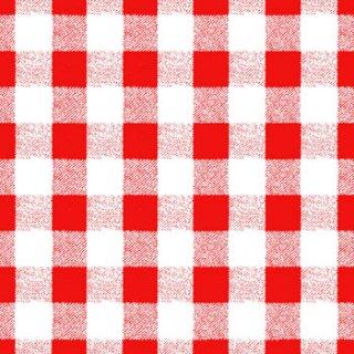 ペーパーナプキン(33)ppd:(5枚)Aragon Check red-PP232