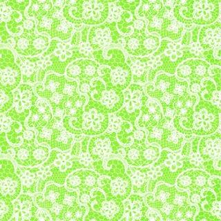 ペーパーナプキン(33)ppd:(5枚)Flowers Lace lime-PP250