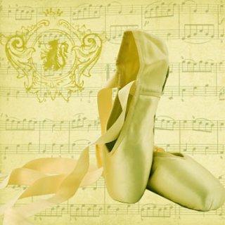 ペーパーナプキン(33)ppd:(5枚)Concerto Ballet-PP270