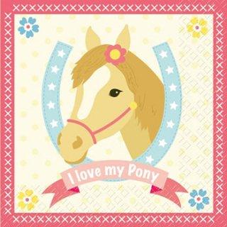 ペーパーナプキン(33)StewoAG:(5枚)Pony-ST62