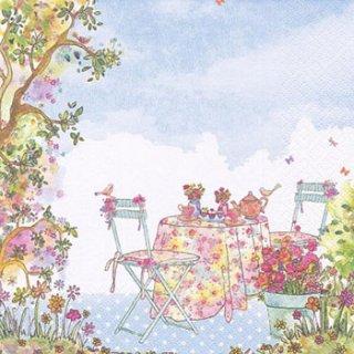 ペーパーナプキン(33)ti-flair:(5枚)Afternoon Tea-TI92