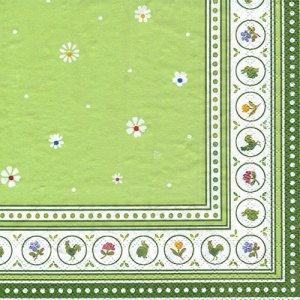 ペーパーナプキン(25)VB:(5枚)FARMERS SPRING(グリーン)-VB3(25)