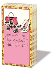 ペーパーナプキン sniff :Leopard Perfection