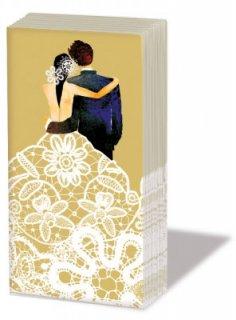 ペーパーナプキン sniff :Wedding Couple ゴールド