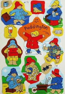 スクラップシート:Paddington Bear パディントンベアPB-3
