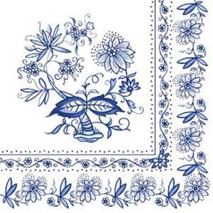 ペーパーナプキン(33)AMB:(5枚)BLUE ONION-AM101