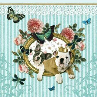 ペーパーナプキン(33)AMB:(5枚)ROYAL DOGS-AM143