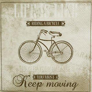 ペーパーナプキン(33)AMB:(5枚)LIFE IS LIKE SAND-AM186