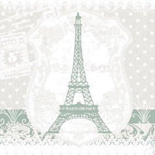 ペーパーナプキン(33)AMB:(5枚)Eiffel Tower-AM348