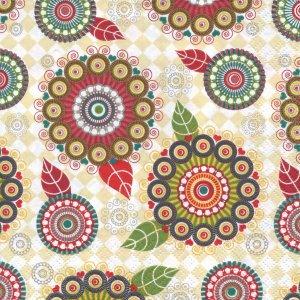 ペーパーナプキン(33)Daisy:(5枚)Aztec Circles-DA59
