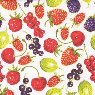 ペーパーナプキン(33)Daisy:(5枚)Summer Fruits Allover-DA89