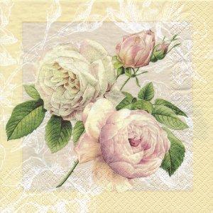 ペーパーナプキン(33)home:(5枚)Cottage Rose 211237-HO4