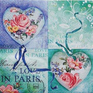 ペーパーナプキン(33)home:(5枚)Love in Paris-211131-HO81