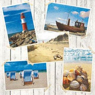 ペーパーナプキン(33)home:(5枚)Beach Impressions-HO120