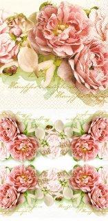 ペーパーナプキン(33)home:(5枚)Mary Roses-HO188