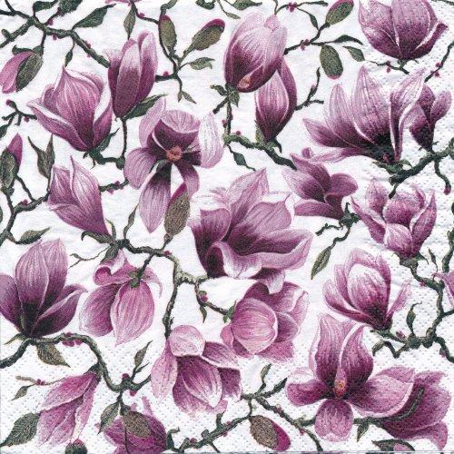 ペーパーナプキン(33)home:(5枚)Magnolia-HO190