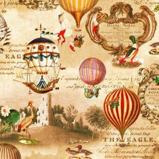 ペーパーナプキン(33)home:(5枚)Vintage Ballons-HO204